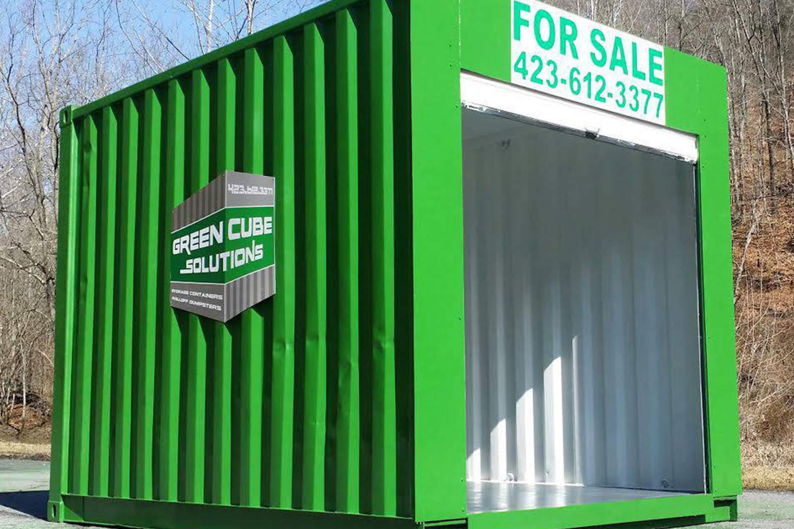 Dumpster Rental by Green Cube Solutions - Bristol TN - Kingsport TN